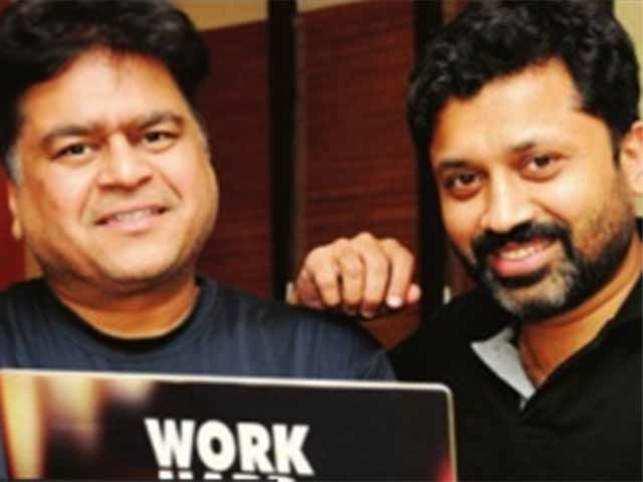 Founders Shammas Oliyath and Bal Krishn Birla.