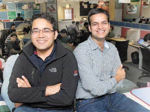 Snapdeal founders Kunal Bahl and Rohit Bansal.