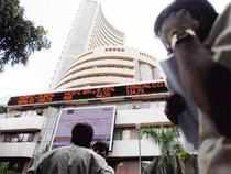 The Nifty index was down 13.40 points at 8926 around 1 pm (IST).