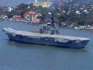 It is the longest serving ship in the history, an official communication from the Western Naval Command said.