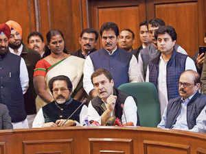 rahul gandhi rahul gandhi shuns truce offer to face trial the
