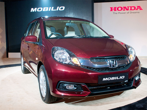End Of Road For Honda Mobilio In India The Economic Times