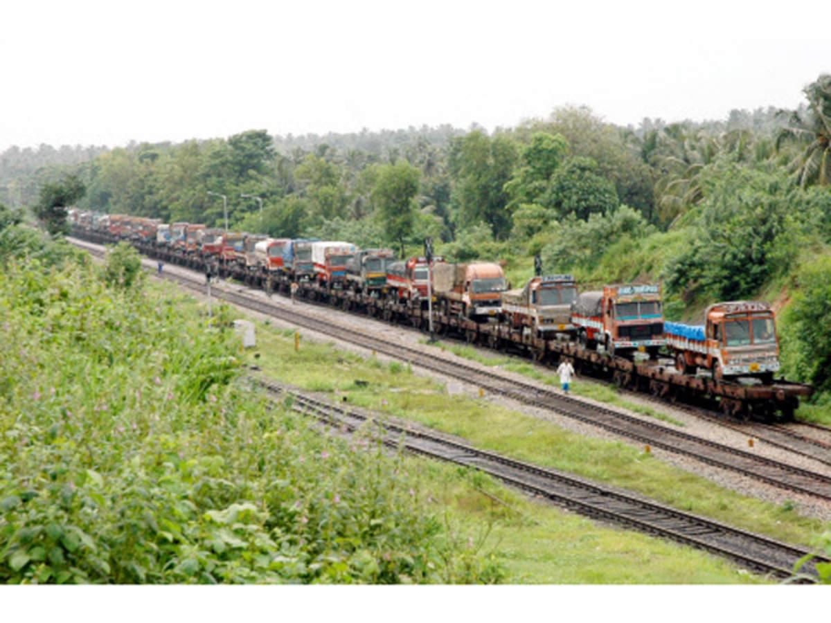 Railways starts RO-RO service to carry trucks, unclog Delhi