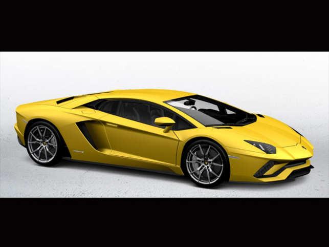 Lamborghini Launches Sports Car Aventador S At Rs 5 Crore The