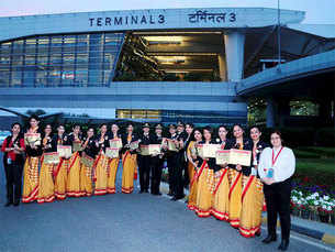Air India claims first journey around the world with all-women crew