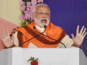 """""""It is India's largest petrochemical plant having an investment of Rs 30,000 crore,"""" Modi said on the occasion."""