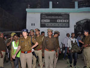 Senior police officials are camping at the site to oversee the operation, which is also being monitored by the Union Home Ministry.