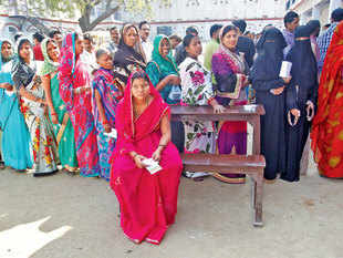 Women voted in greater number than men all over India in 2017. Sources in the EC said the trend was indicative of women's increasing access to education.