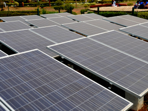 In February, solar tariffs in the country touched a low of Rs 2.97 per unit for the first year of generation and an average tariff of Rs 3.30 per unit at a bidding for solar plants at Rewa in Madhya Pradesh.