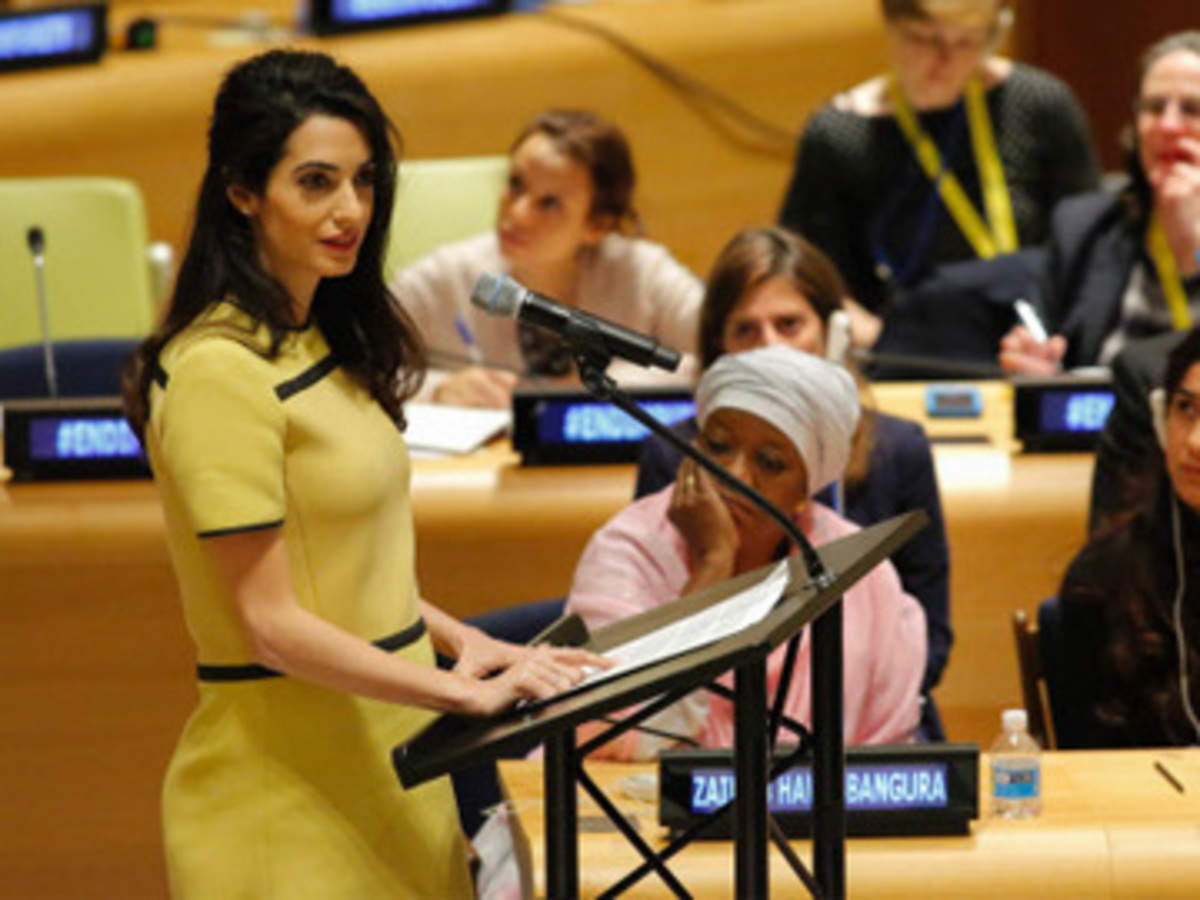 Amal Alamuddin: Latest News & Videos, Photos about Amal