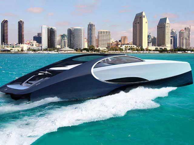 Bugatti built a luxury sport yacht to match its $2 6 million Chiron