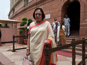 """""""BJP has the requisite numbers. They are more than 30. It will be helpful for Manipur,""""  Najma Heptulla said."""