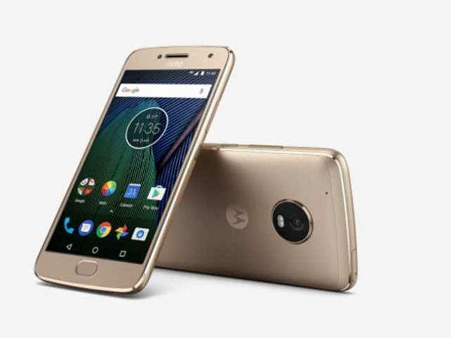 The Moto G5 Plus features a 5.2-inch display and offers up to 4GB RAM with removable storage of up to 128GB.