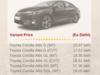 Premium sedan in C segment