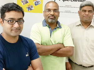 Founded in February 2016 by three friends (L-R)Shrikanth Jagannathan, Ashwin Ramasamy and Murali Vivekanandan, PipeCandy currently tracks over 100 million decision makers across 40 million companies globally.