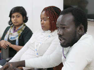 Alternative Law Forum's Darshana Mitra, who works with African students in Bengaluru, said many African students are deceived by educational institutions. (File pic)