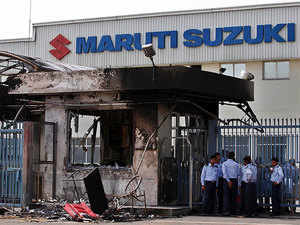 Violence had erupted at the facility in August 2012 over disciplinary action against an employee during which agitated workers had gone on the rampage, torching a part of the factory.
