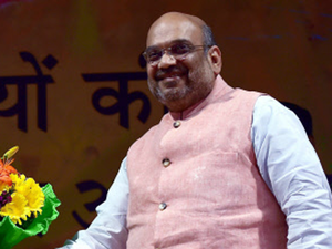 """Right now, there are the BJP state governments in 58 per cent of the country's area. Along with our allies, we have governments in 65 per cent of the country's area, besides the government at the Centre,"" Shah said."