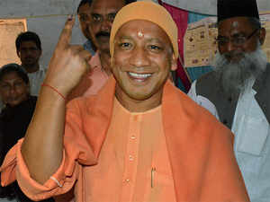 Born Ajay Singh, the diminutive shaven headed politician is known for his powerful oratory, though most of his speeches hinge on divisive lines.