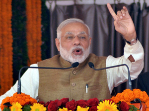 """Seeking to allay apprehensions over some policies of his government, Modi said, """"This is not an ideology to destroy systems. This is about `kaya-kalp' (transformation)."""