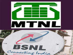 MTNL offers mobile services in Delhi and Mumbai. BSNL, on the other hand, operates in rest of India.