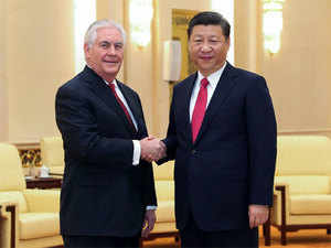 """We should properly handle and manage sensitive issues to promote the healthy and stable development of sino-US relationship from a new start,"" Xi told Secretary of State Rex Tillerson here."