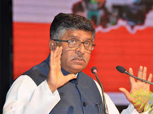 """The government must cease to be a compulsive litigant,"" minister Ravi Shankar Prasad said."