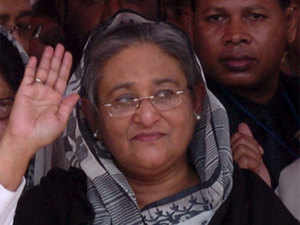Officials here hinted that a formal agreement may not be ready during Bangladesh PM Hasina's April 7-10 visit, but a draft paper could be agreed upon.