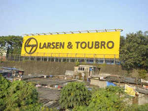 Shares of Larsen & Toubro were trading 0.69 per cent lower at Rs 1,540.05 on BSE.