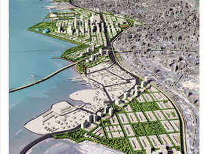 An overarching revamp of the country's oldest harbour was declared right after Nitin Gadkari took charge of the shipping ministry when the BJP assumed power at the Centre in 2014.  (Image: Artist's impression of the project)