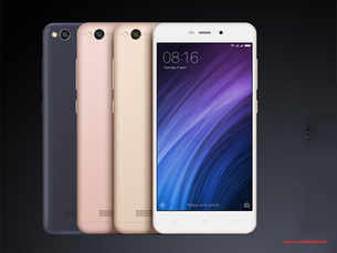 Xiaomi launches its cheapest smartphone Redmi 4A in India for Rs 5,999