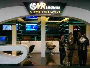 PVR Cinemas and HP launches India's first virtual reality lounge