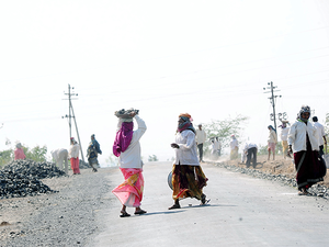NREGA provides supplementary means of livelihood to people in rural areas, primarily during lean periods.