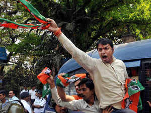 BJP has given ticket to a retired teacher, Sourindramohan Jana to fight the by-elections.