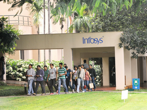 Infosys campus in Bangalore.