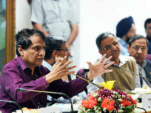 """Admitting complaints against food served in trains, Prabhu said, """"Whenever complaints come we always take prompt action. We had detailed discussion before formulating the policy."""""""
