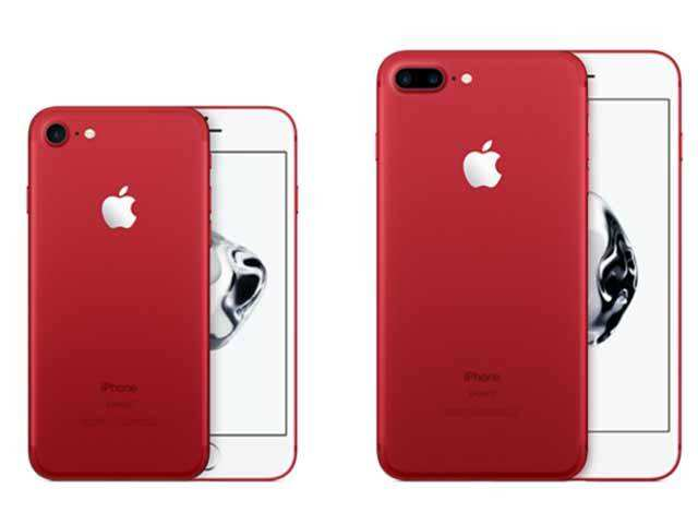 Red Is A First For IPhones