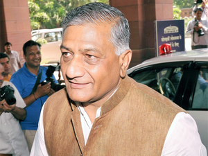 """The process is nearing completion and 4,870 Indian workers have returned so far,""  V K Singh said."