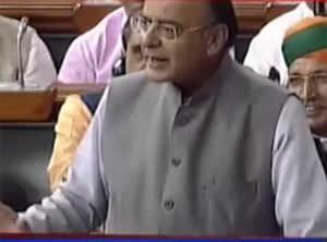 Aadhaar must for I-T filing: FM on Finance Bill debate