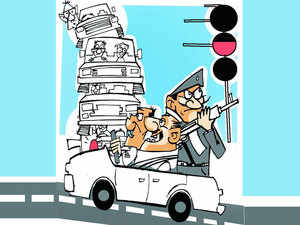 """Ghulam Nabi Azad (INC) said """"Only one route should be secured for the VIP."""""""