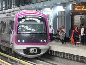 BMRCL officials claim that April is an achievable target, adding that Alstom, a French multinational company , has undertaken mainline testing activities.