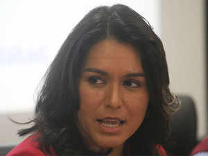 A three-term lawmaker from Hawaii, Gabbard was recently elected as the Democratic Co-Chair of Congressional Caucus on India and Indian Americans.