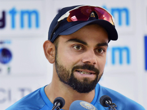 In the event of Kohli missing out, Ajinkya Rahane would lead the team.