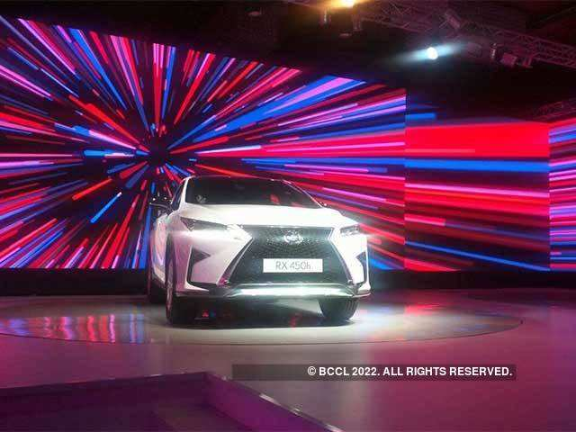 Toyota Lexus debuts in India with three models starting from