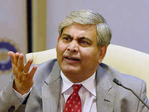 "Shashank Manohar, who had resigned from his position of ICC chairman earlier this month, citing personal reasons, agreed to ""defer"" his resignation on Friday."