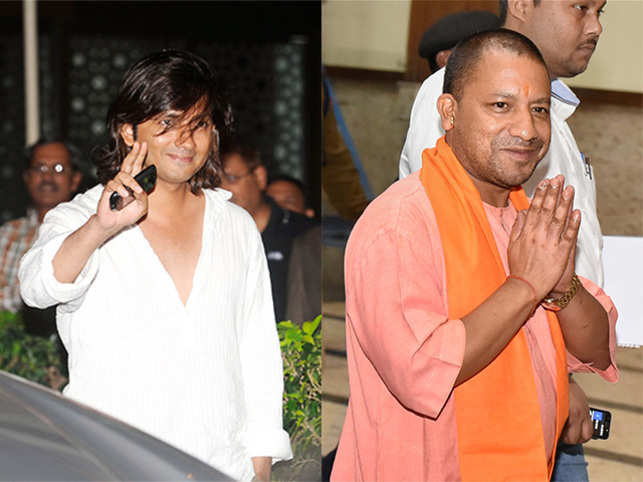 A FIR was filed against the director (left) for his remarks against the UP CM.