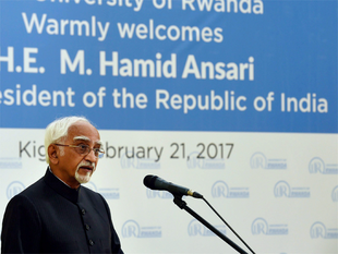 """The freedom of our universities has been challenged by """"narrow considerations of what is perceived to be public good"""", Ansari said."""