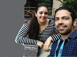 PoolMyRide founders, Rajat Talwar and Amrita Gill
