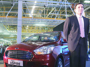 """Owing to input costs, Ford cars will see an increase of 1-2 per cent from April,"" a Ford India spokesperson told PTI."