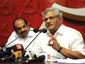 "The senior CPI(M) leader alleged that ""from 2014 summer, the Modi government is pushing for the Hindu ideology."""